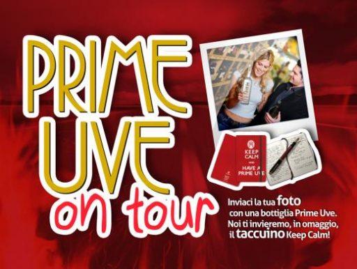 """Al via il progetto """"Prime Uve on tour"""""""