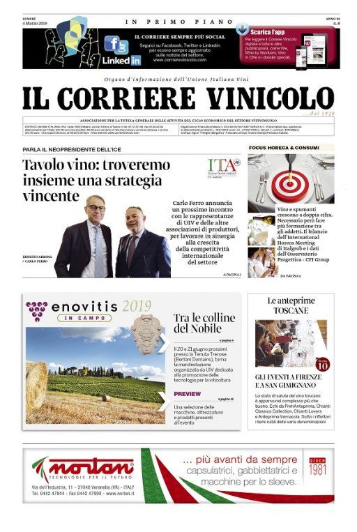 Oiv, maxi rimbalzo per la produzione vinicola mondiale