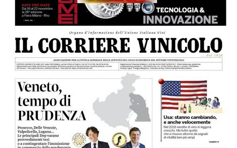 94c84af68b Italia · Il Corriere Vinicolo magazine in edicola